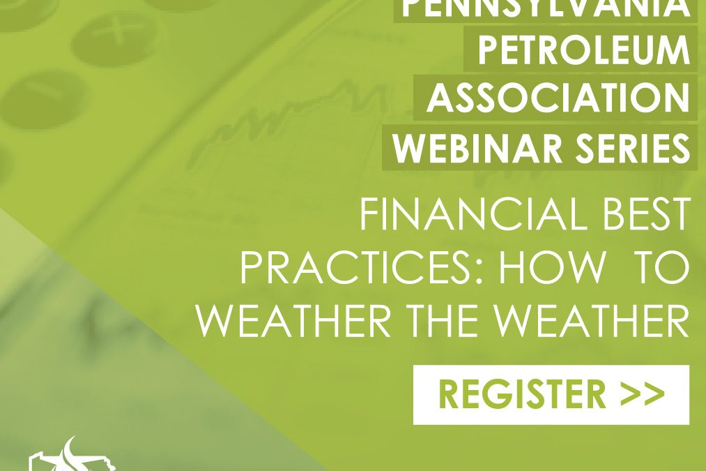 PPA WEBINAR SERIES: Financial best practices – how to weather the weather