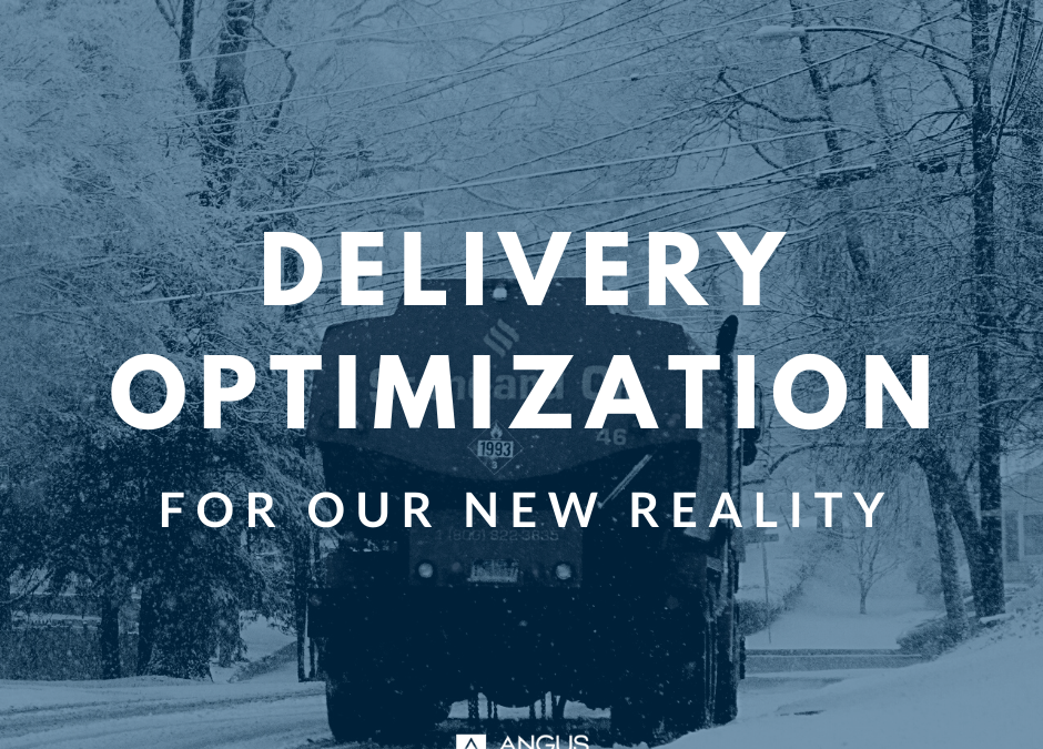 Delivery Optimization for Our New Reality