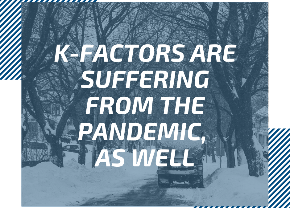 K-factors are suffering from the pandemic, as well