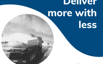 Deliver more with less